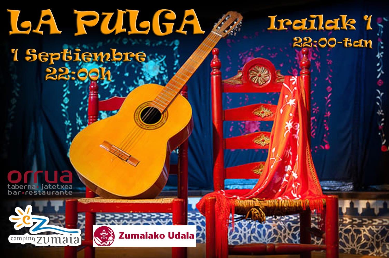 Cartel, La Pulga y Compañía, Camping Zumaia, Septiembre 2018